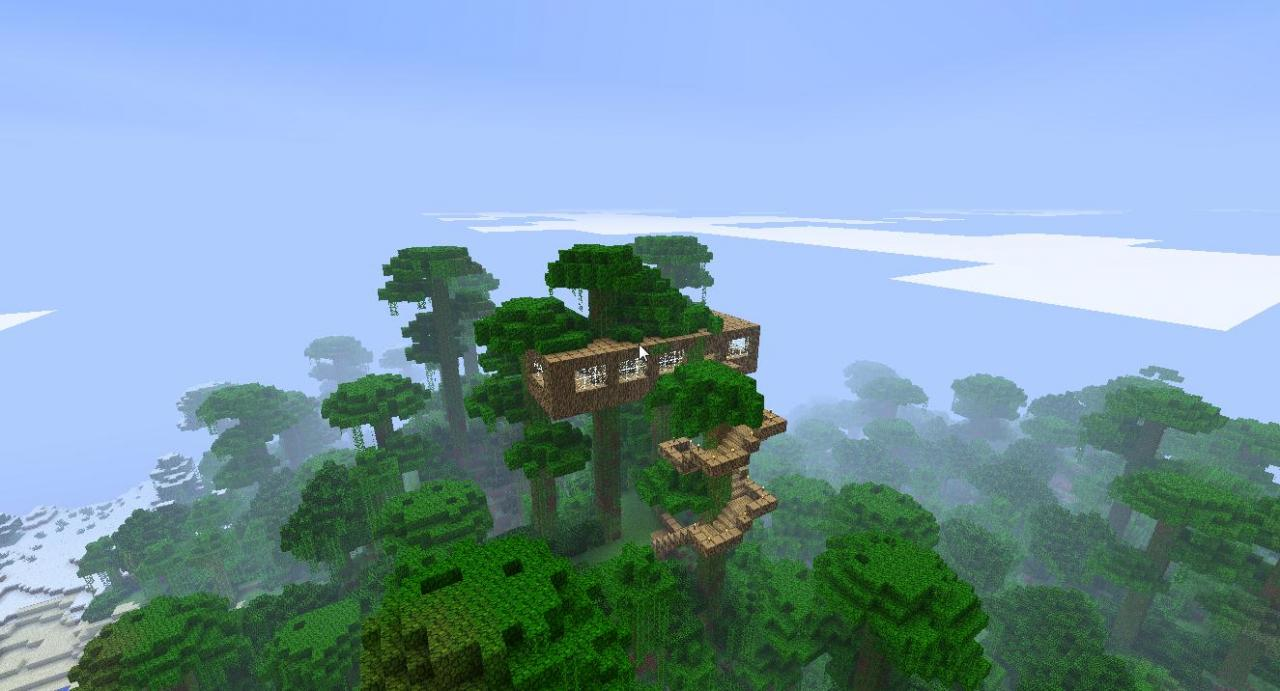 Simple Tree House Jung...