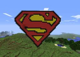 Superman Logo Minecraft Map & Project