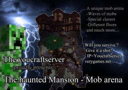 Minecraft Awesome Mob Arena - The Haunted Mansion Minecraft Map & Project
