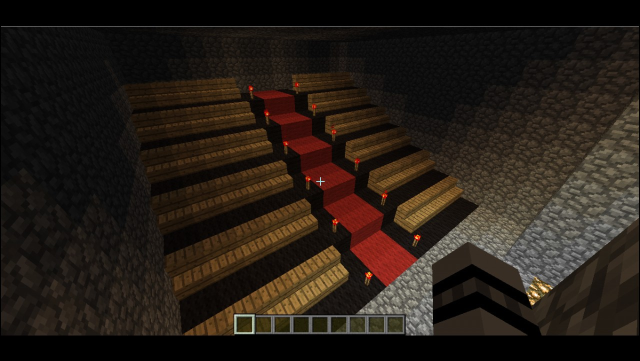 Brainownz Movie Theater Two Actual Movies Minecraft Project
