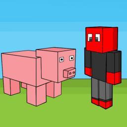 Meeting a pig -Full comic- Minecraft Blog