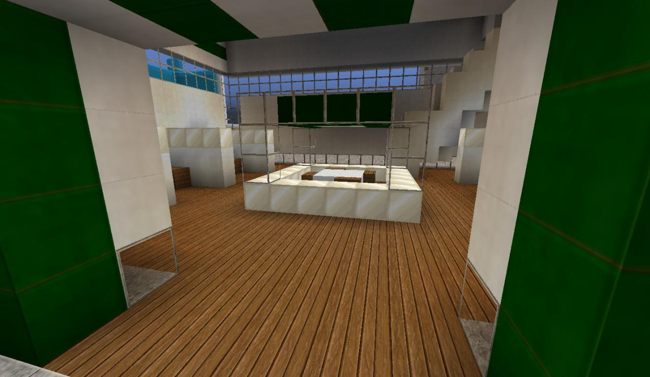 Modern office design 1 minecraft project for Office design minecraft