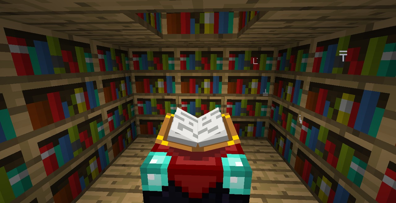 Transforming Enchantment Room Minecraft Project