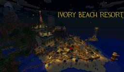 Ivory Beach Resort Minecraft Map & Project