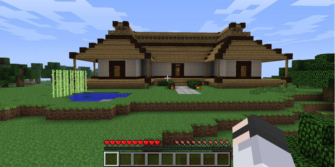 modern japanese house minecraft Modern House