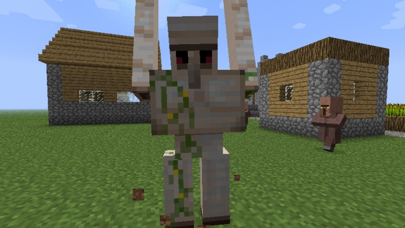 how to move villagers in minecraft