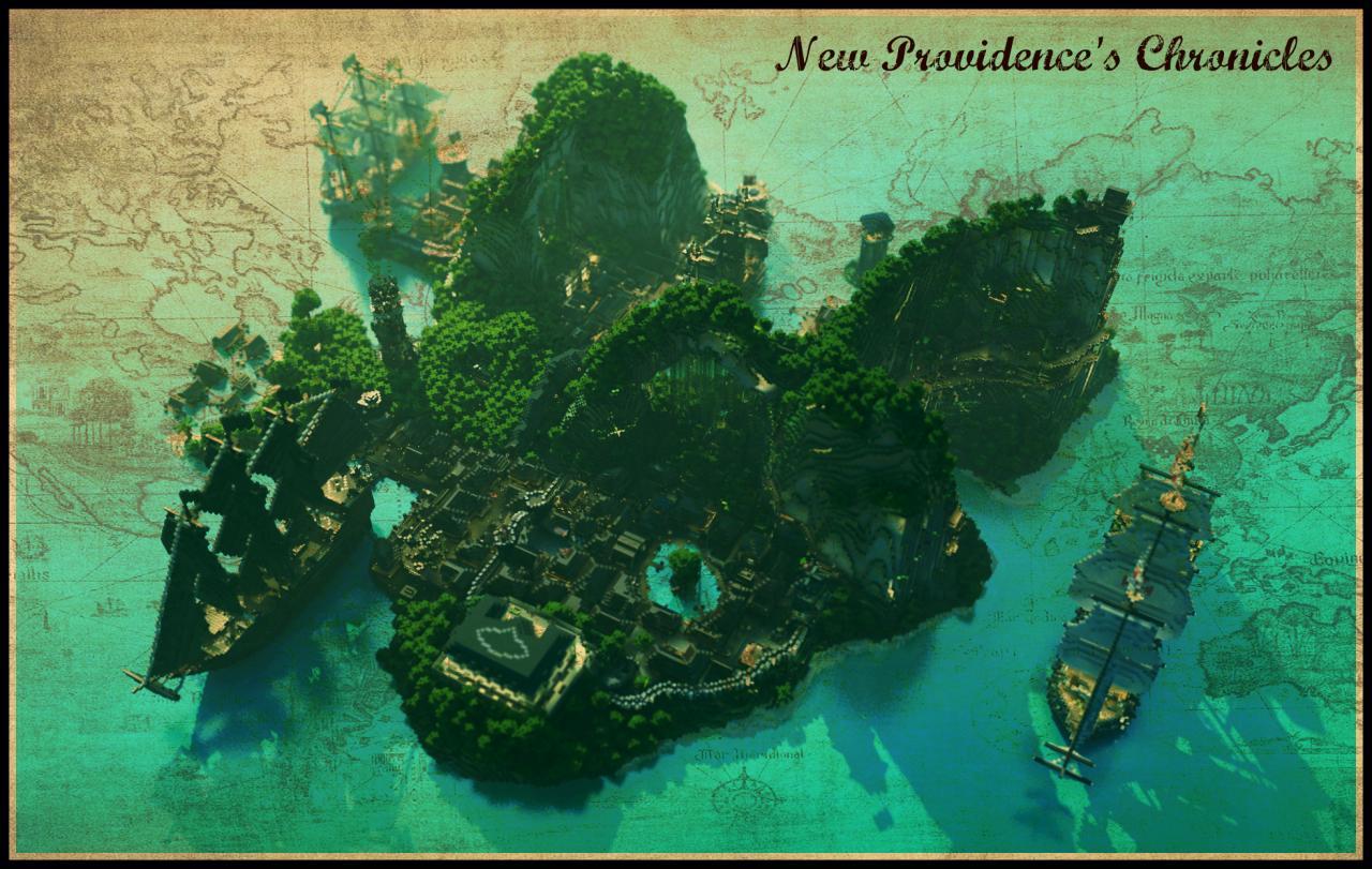 Best Island Map Minecraft