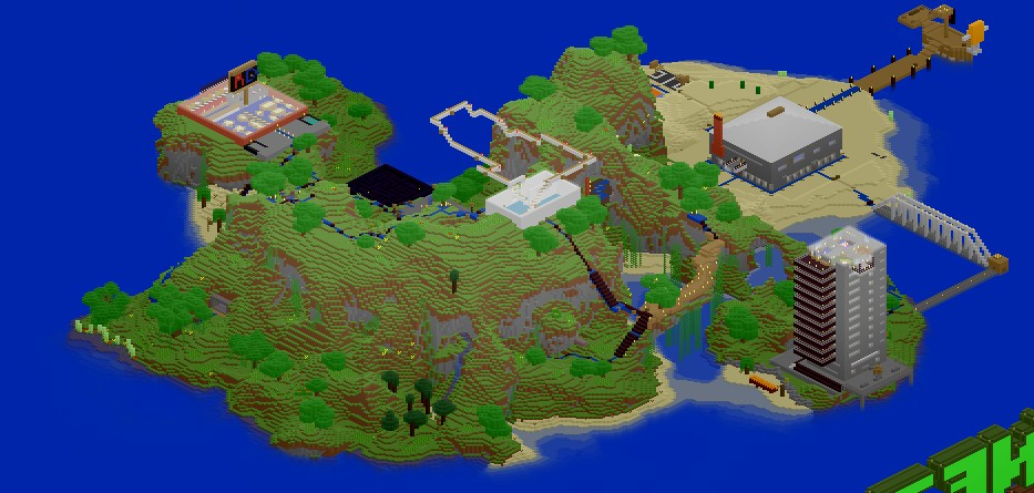 Dominic's Island Resort (V. 2.0) Minecraft Map & Project