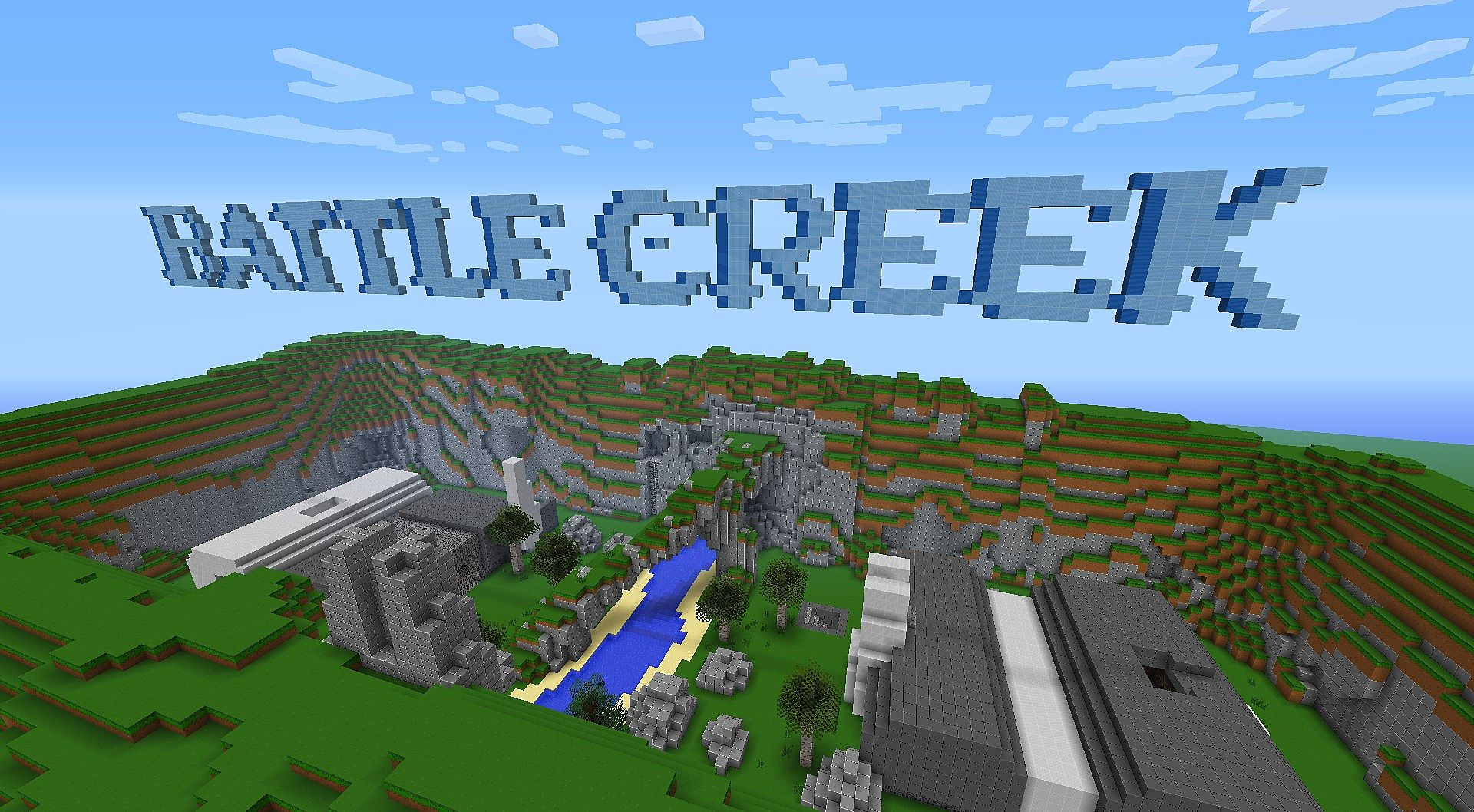 Minecraft Arena Maps[Halo 1][Battle Creek][+ Video]