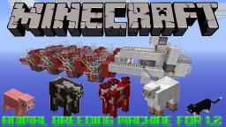 Animal Breeding Machine For 1.2 Tutorial Minecraft Map & Project