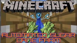 Automated Sugar Cane Farm Tutorial Minecraft