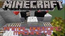 Animal Breeding Machine V2 Tutorial Minecraft Map & Project
