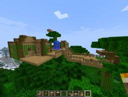 Jungle Town Minecraft Map & Project