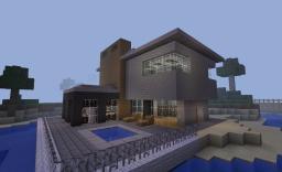 Random Modern House Minecraft Map & Project