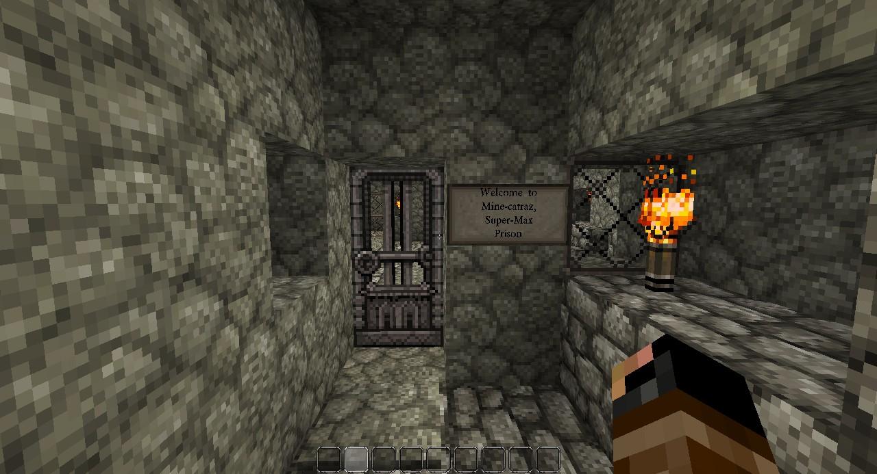 Minecatraz Supermax Security Prison Of Minecraft Minecraft Project
