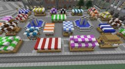 Markt / Marktplatz | Market / Marketplace Minecraft Map & Project