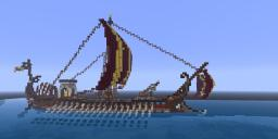 Catalan - A Greek Bireme Minecraft Map & Project
