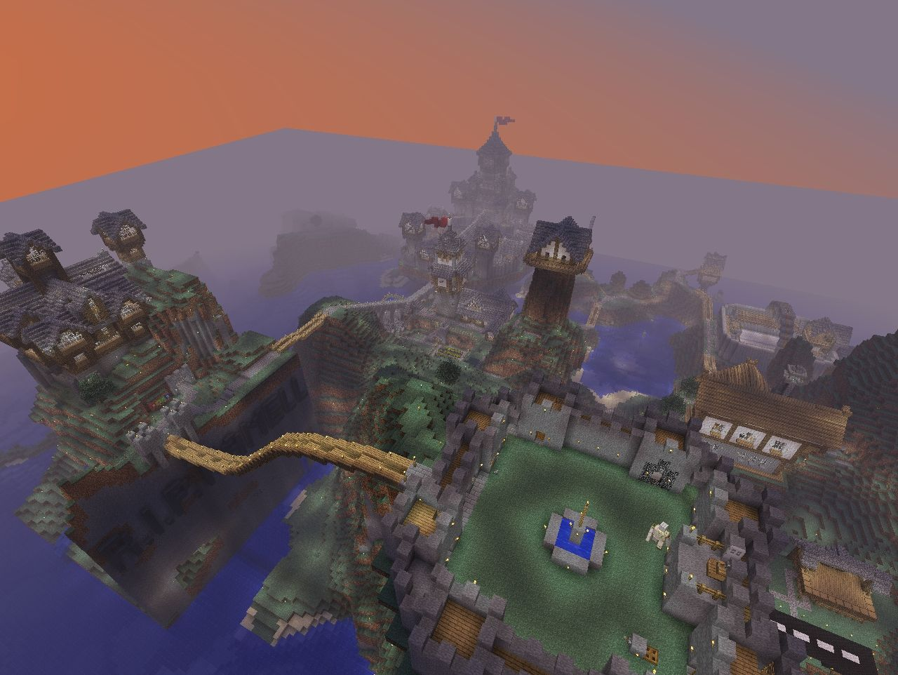 Floating Citadel Of Emirkol The Chaotic Minecraft Project