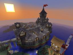 Floating Citadel of Emirkol the Chaotic Minecraft