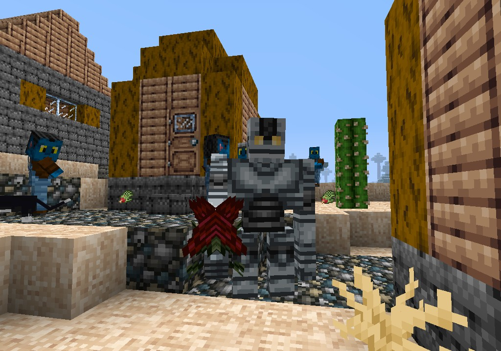iron golems minecraft how to make