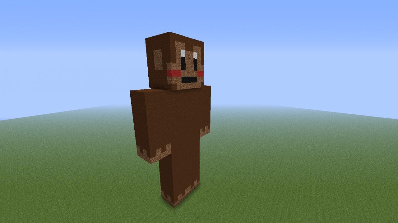 Monkey Statue Minecraft Map