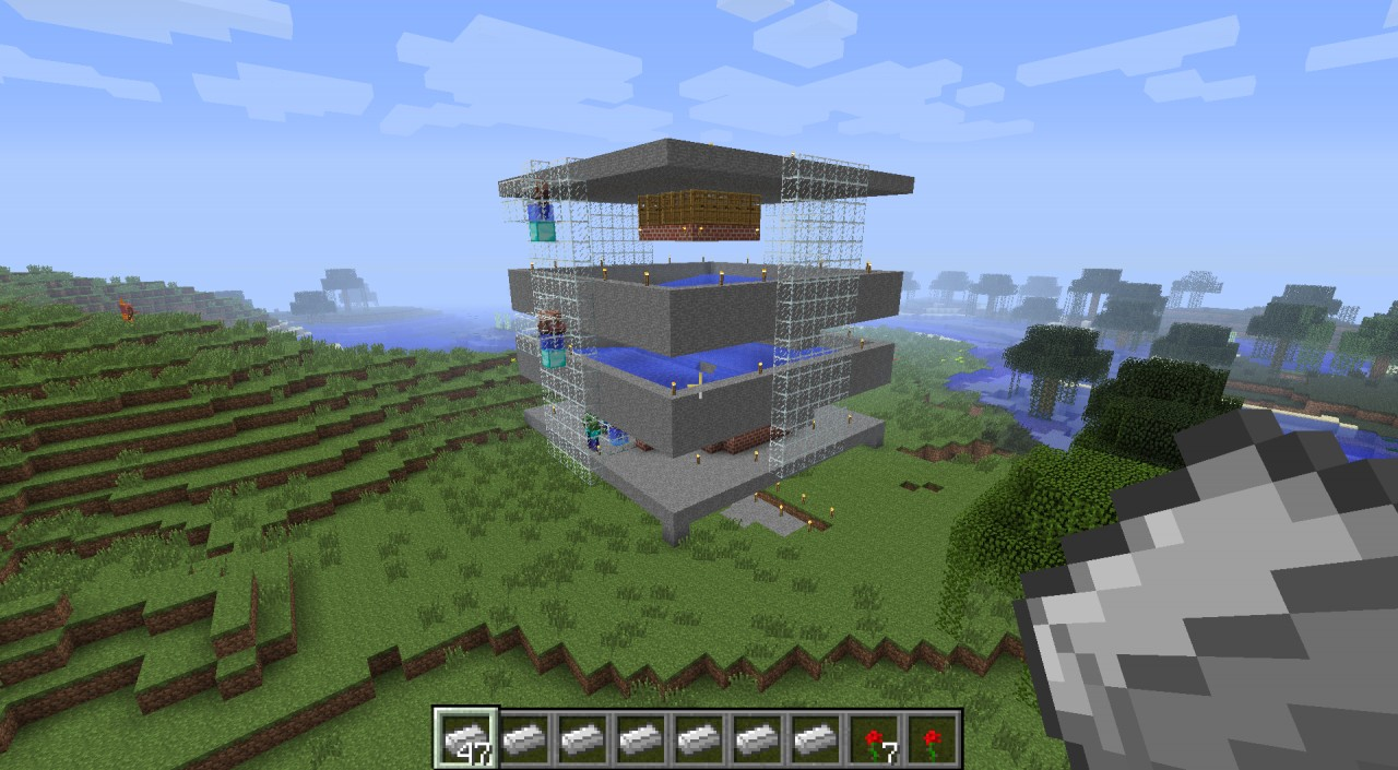 Minecraft Automatic Builds