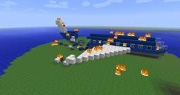 PlaneCrash - Adventure 3 Player COOP Map Minecraft Map & Project