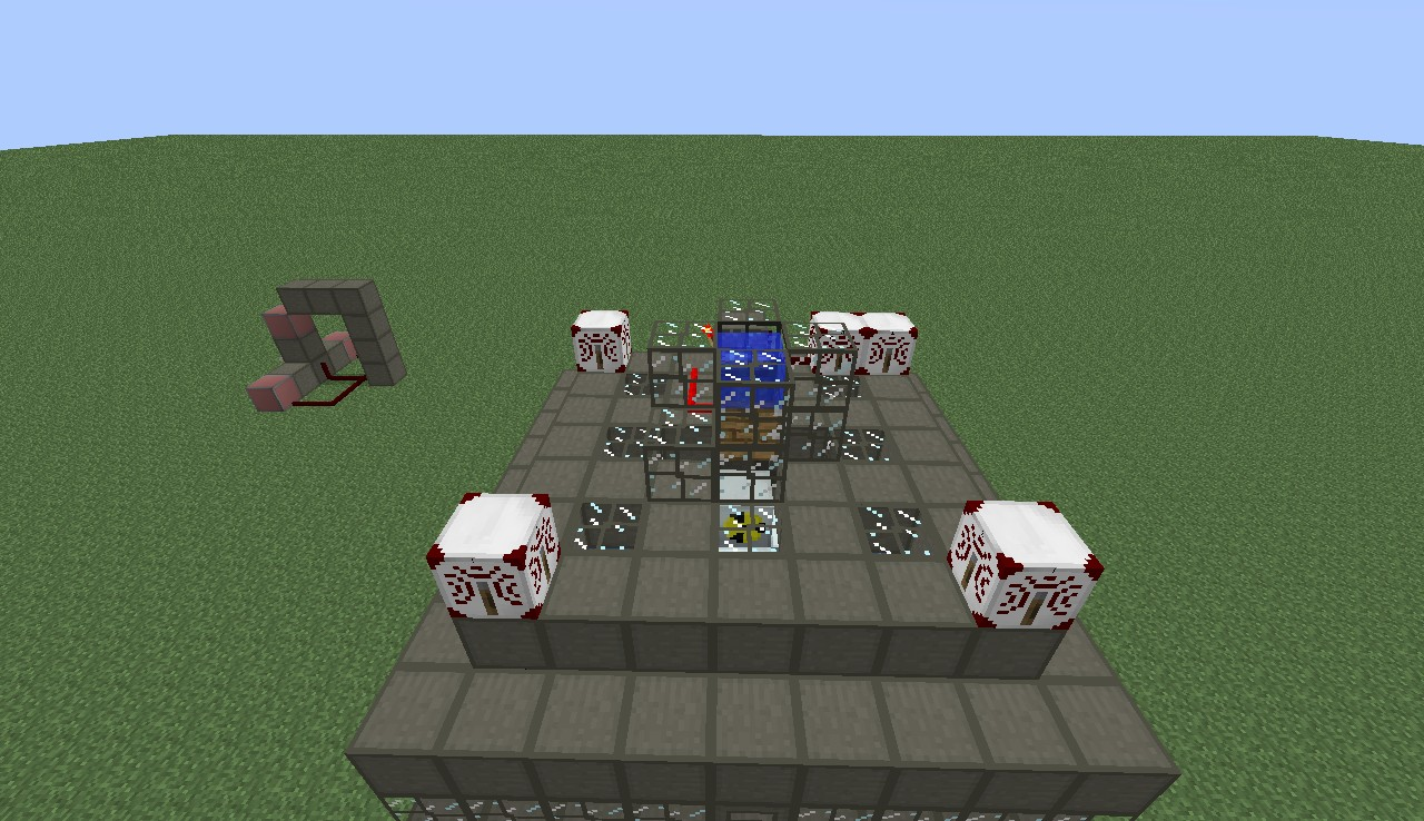 how to build a nuclear reactor in minecraft