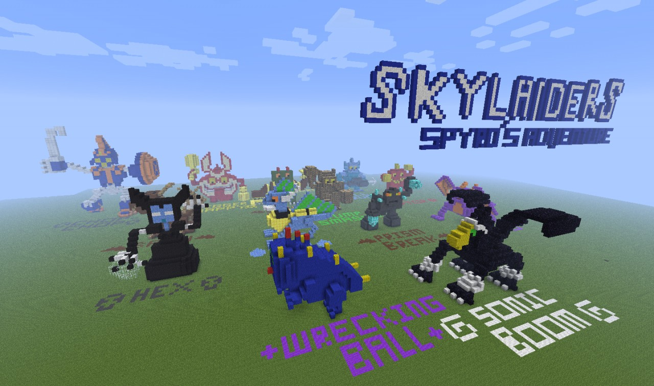 Skylanders in minecraft (and other epic game stuff ... on dora the explorer map, iron man map, sesame street map, batman map, my little pony map, epic mickey map, maplestory map, angry birds map, princess map, world of warcraft map, the simpsons map, adventure time map, call of duty map, star trek map, need for speed map, portal map, winnie the pooh map, assassins creed map, doctor who map, hello kitty map,