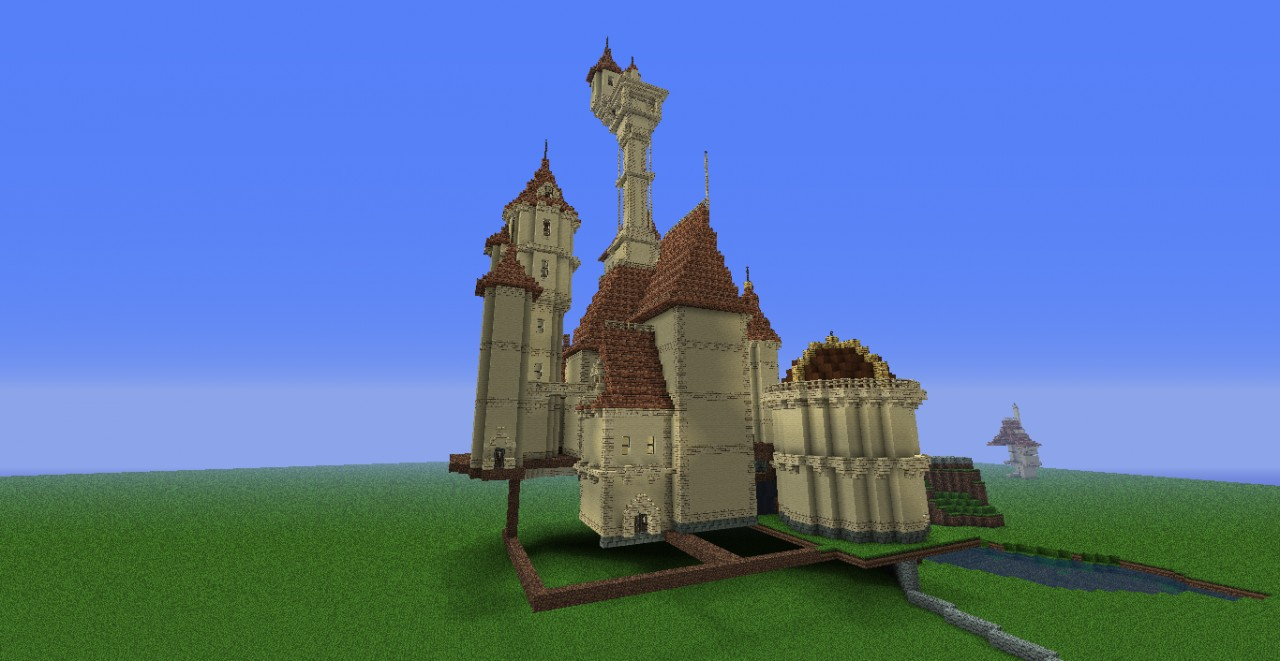 Beauty And The Beast Castle Minecraft Project