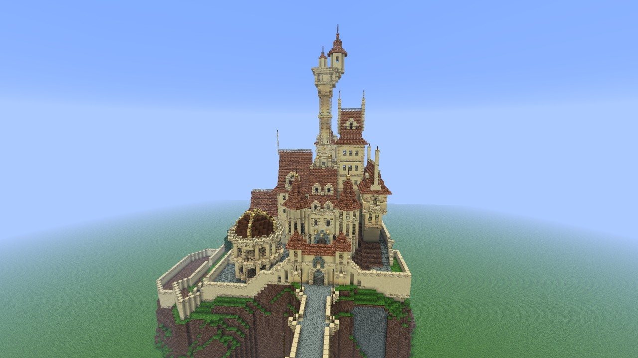Beauty And The Beast Castle on Neuschwanstein Castle Floor Plan Minecraft