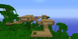 The Jungle Base Minecraft Map & Project