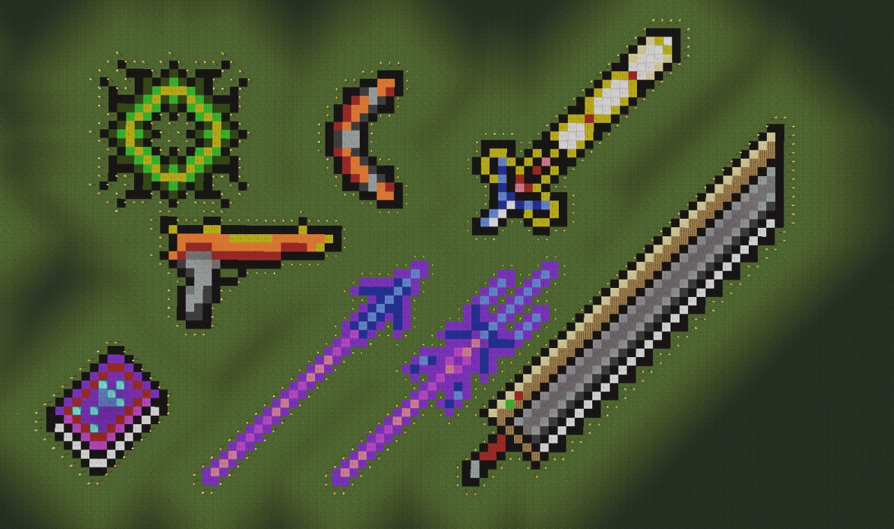 Terraria Pixel Art Guide Related Keywords & Suggestions