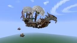 Drake's Descent (Airship) Minecraft Map & Project