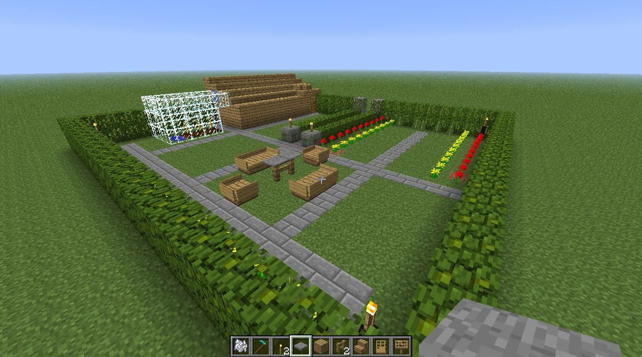 Posh Garden Minecraft Project