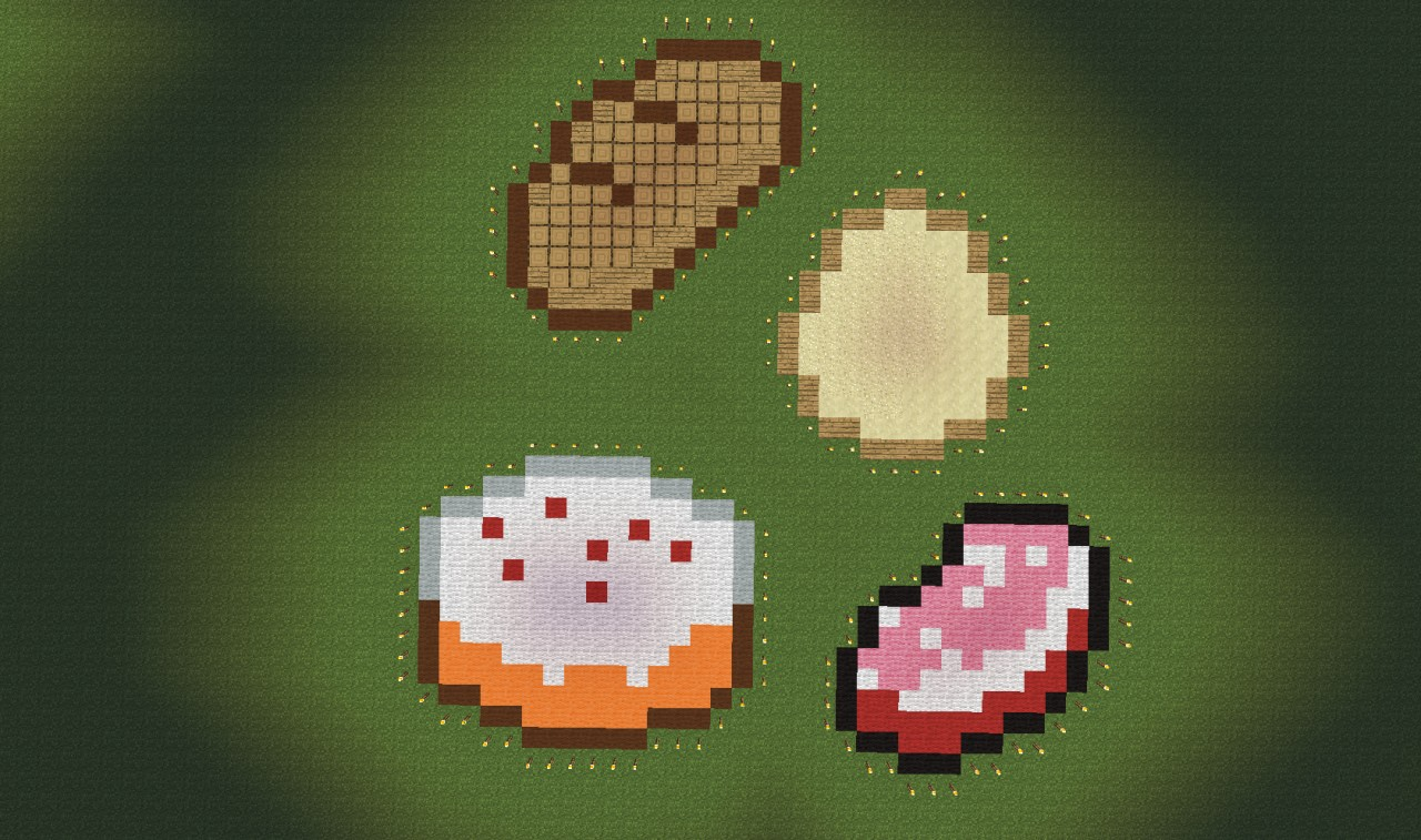 Minecraft Food [Pixel Art] Kaunas (+ world map Picture ...