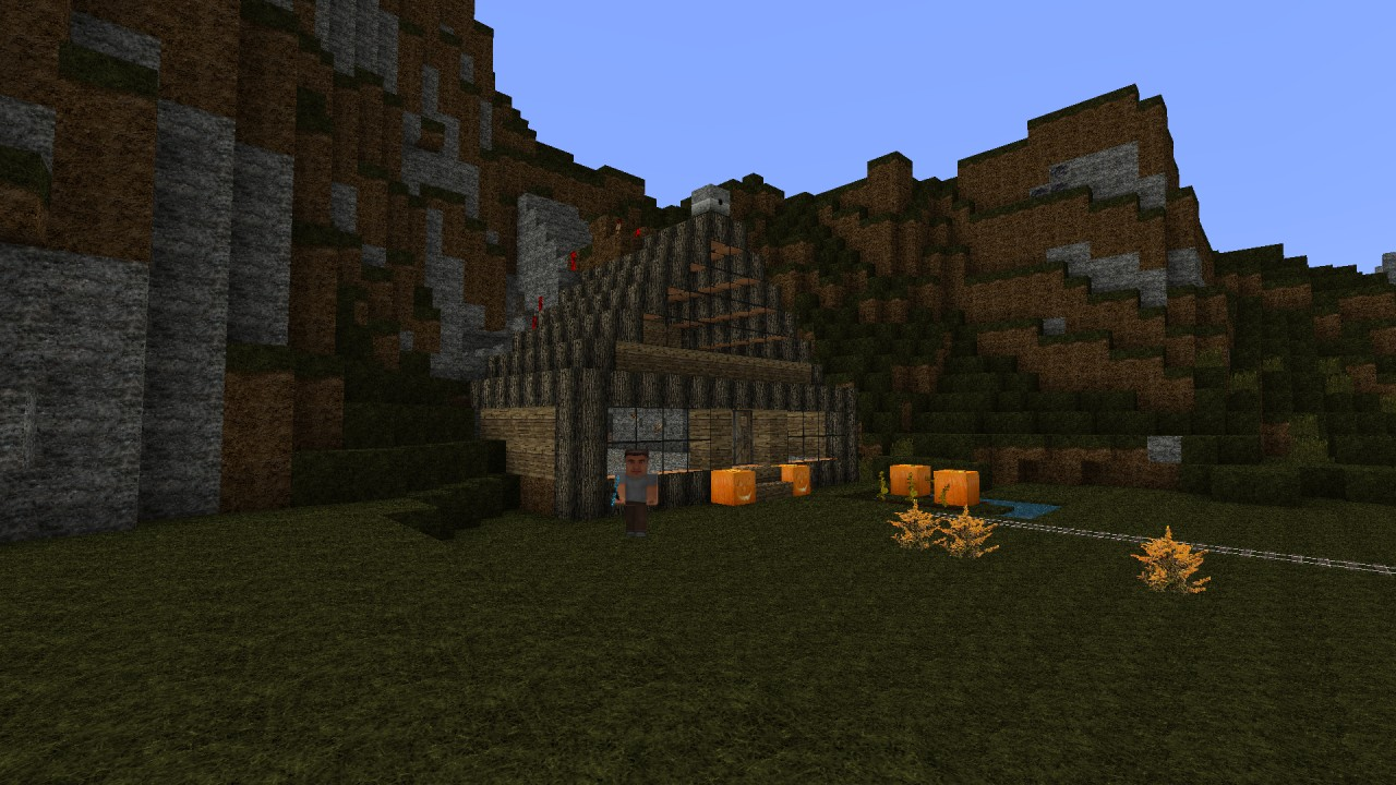 how to make a house in minecraft survival mode
