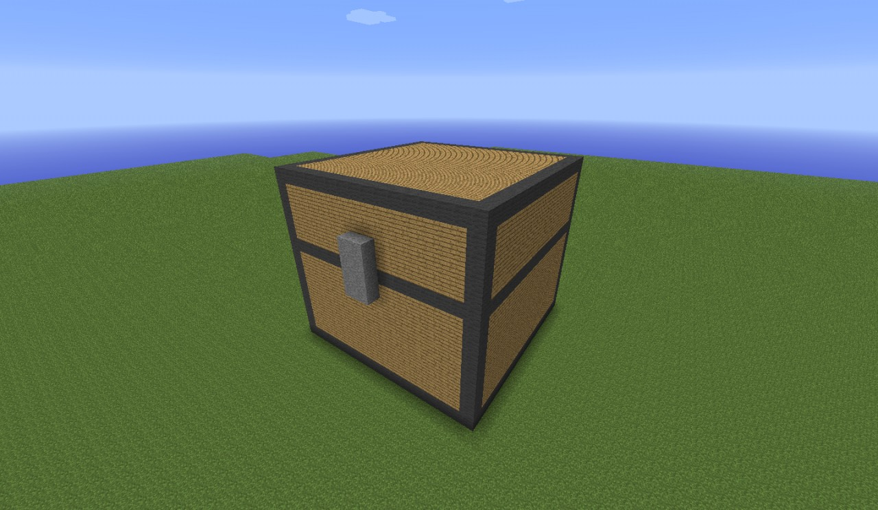 3D Minecraft Chest Minecraft Project