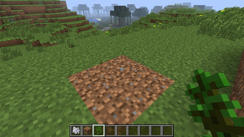 how to make a tree minecraft