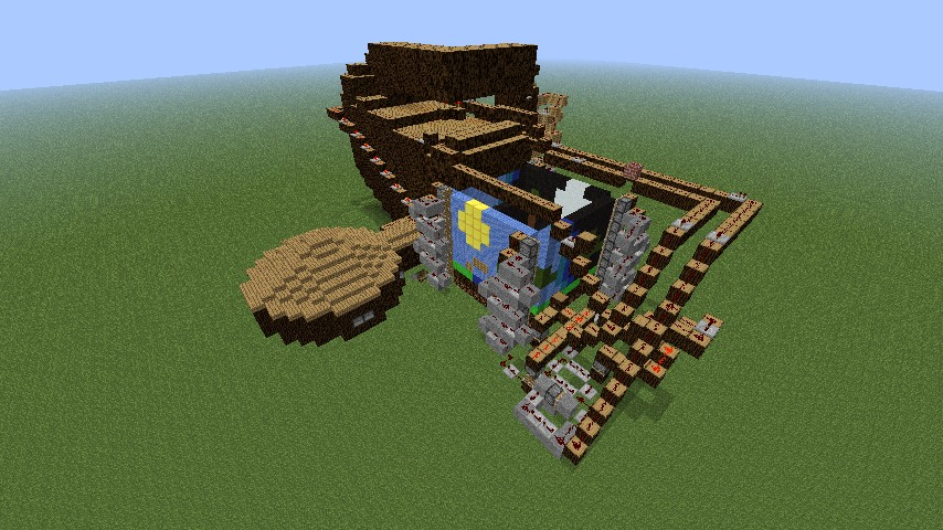 how to build a movie theater in minecraft
