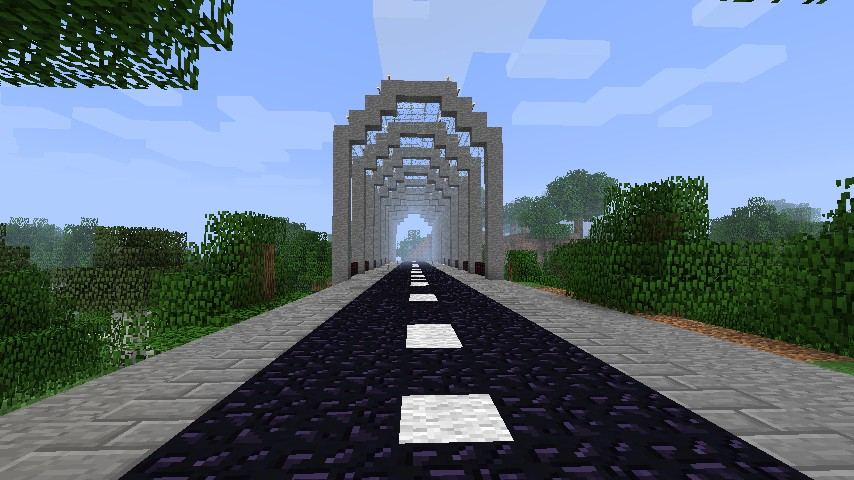 Bridge And Road Schematic Included Minecraft Project