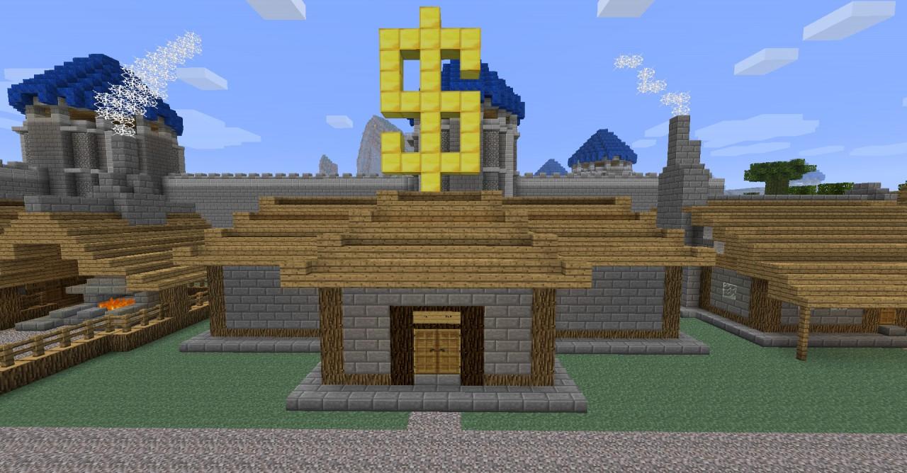 Image Gallery Minecraft Bank