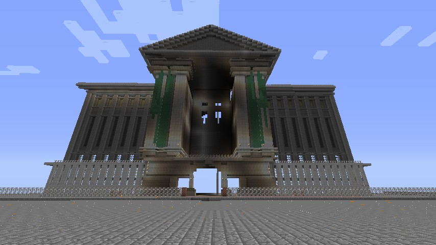 how to make a bank in minecraft