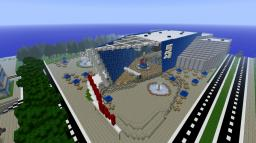 Georgia Aquarium in Minecraft (New Shadowpoint Aquarium) Minecraft Map & Project