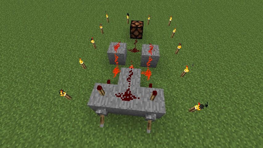 Redstone xor gate minecraft project for Porte xor minecraft