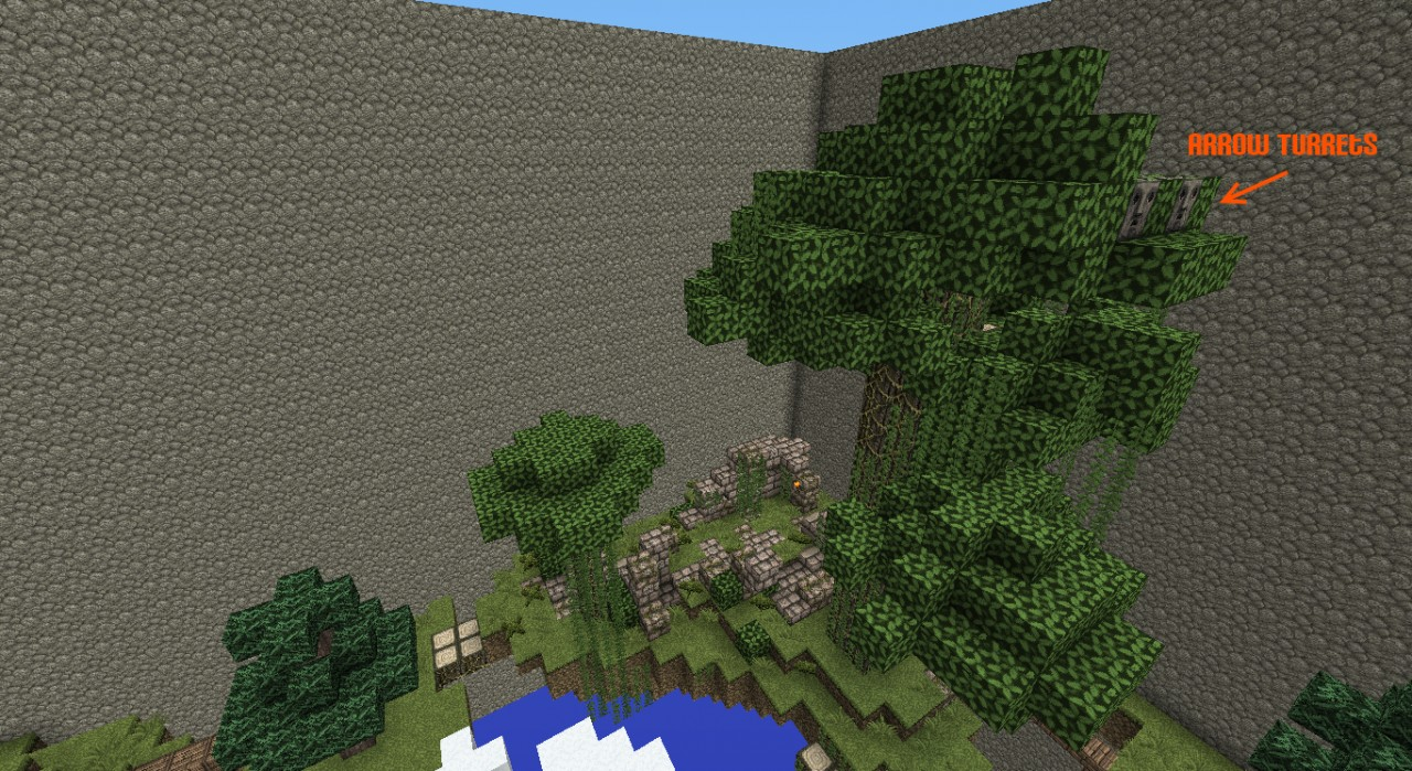 Jungle Island - Ruins