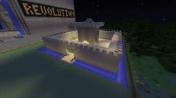 Sandcastle PVP Arena Minecraft Project