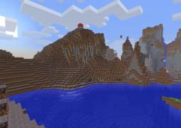 cool seed and a sopp land Minecraft Project
