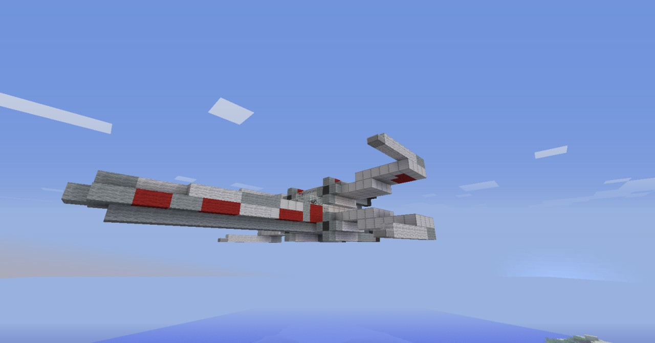 X-Wing Fighter (Star Wars) - GrabCraft - Your number one source ...