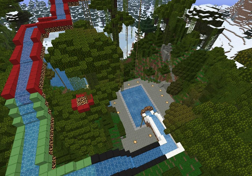 how to build a caravan in minecraft